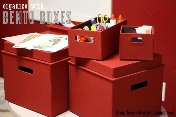 Organize with a bento box set wt
