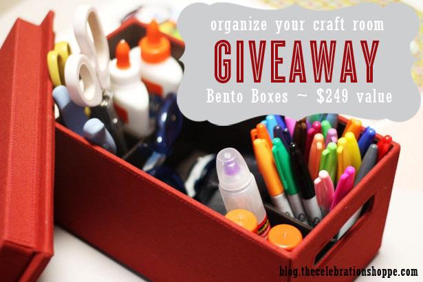 The celebration shoppe bento box giveaway wl