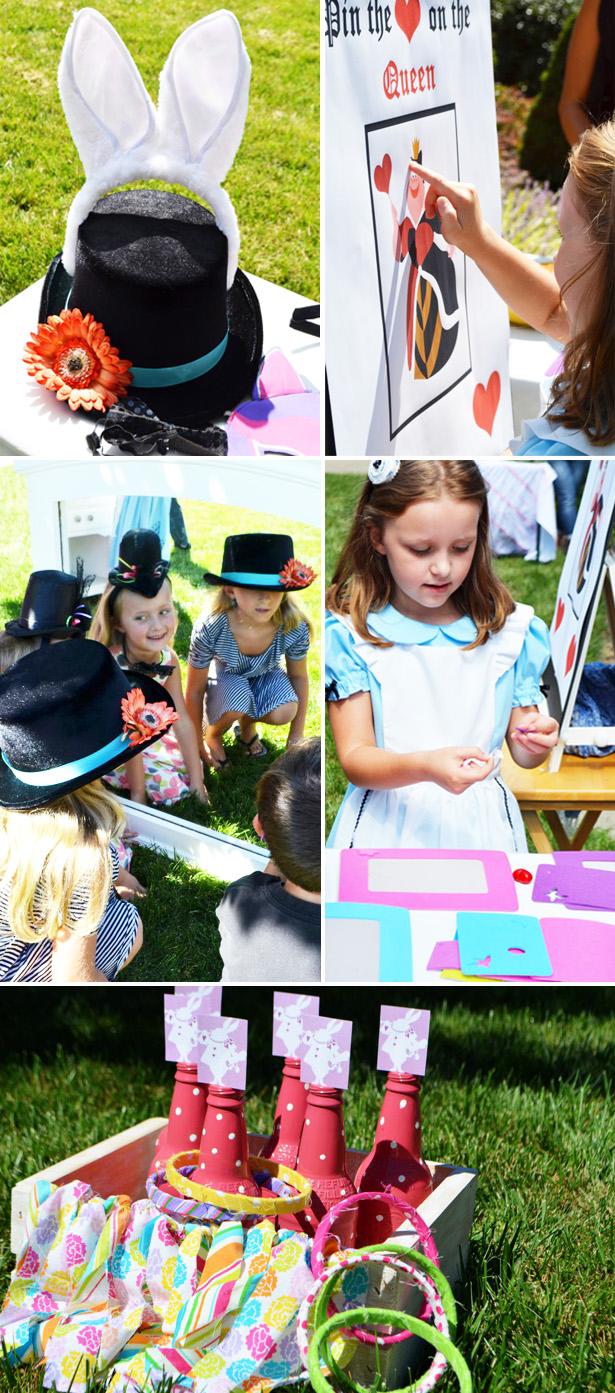 Alice in wonderland tea party activities