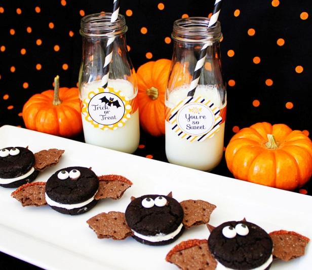 Easy to make Oreo bat cookies | Kim Byers