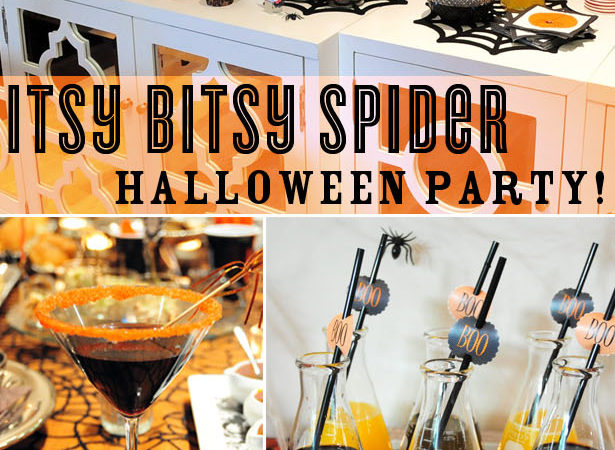 Itsy bitsy spider halloween party