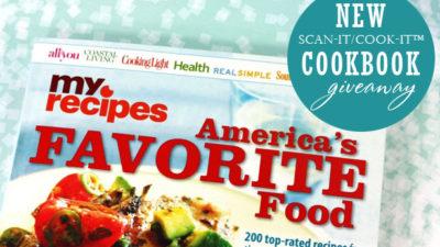 My recipes cookbook giveaway