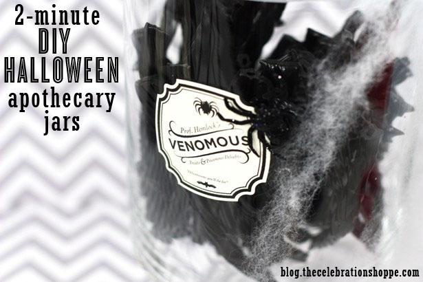 Make Halloween Apothecary Jars   Kim Byers