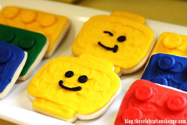 The celebration shoppe lego cookies 8673 wl