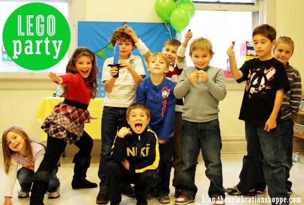 The celebration shoppe lego party 8822wt1