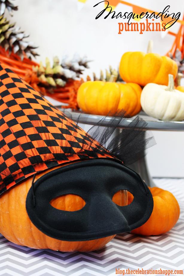 Easy, no mess pumpkin decorating ideas | Kim Byers