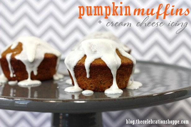 The celebration shoppe pumpkin muffins 8477wt