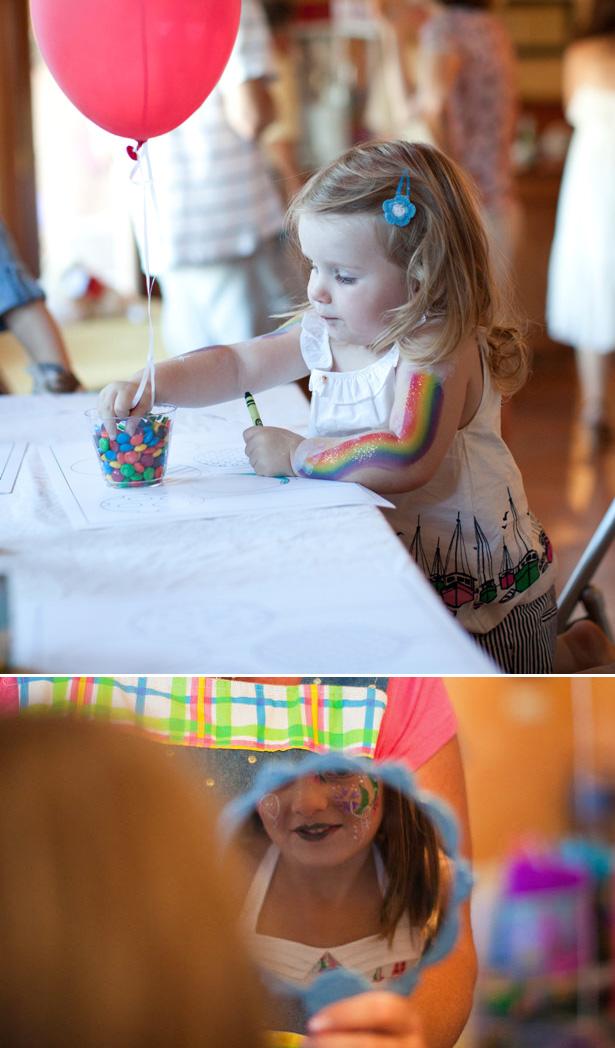 3 balloon birthday party