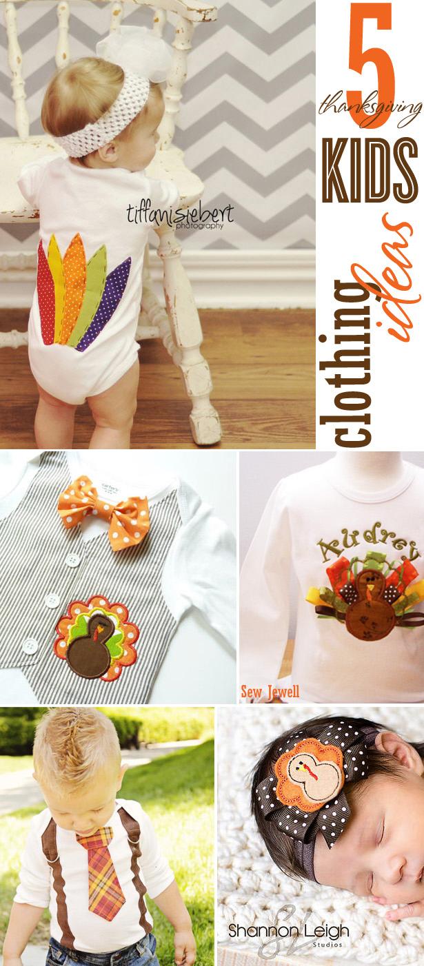 5 thanksgiving kids clothing ideas