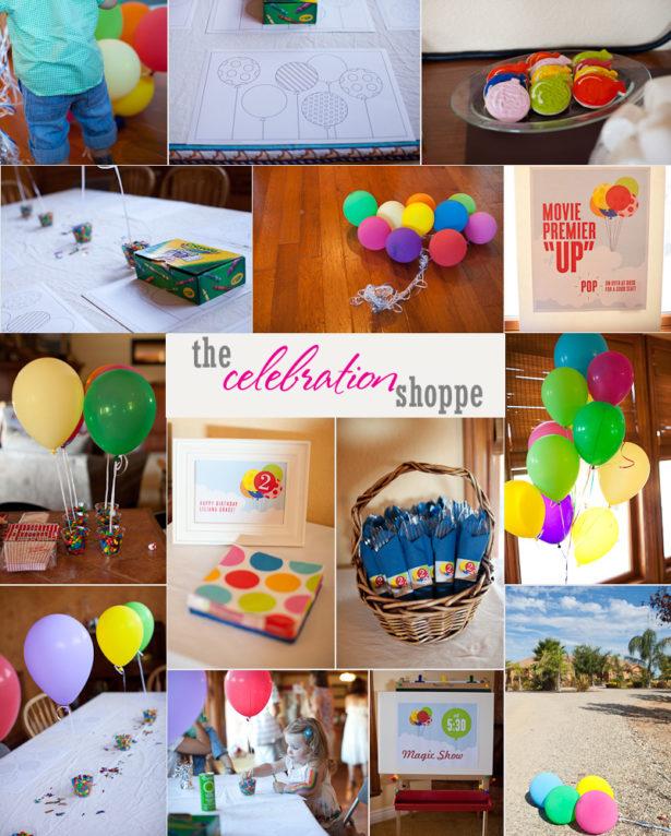 6 balloon birthday party with the celebration shoppe