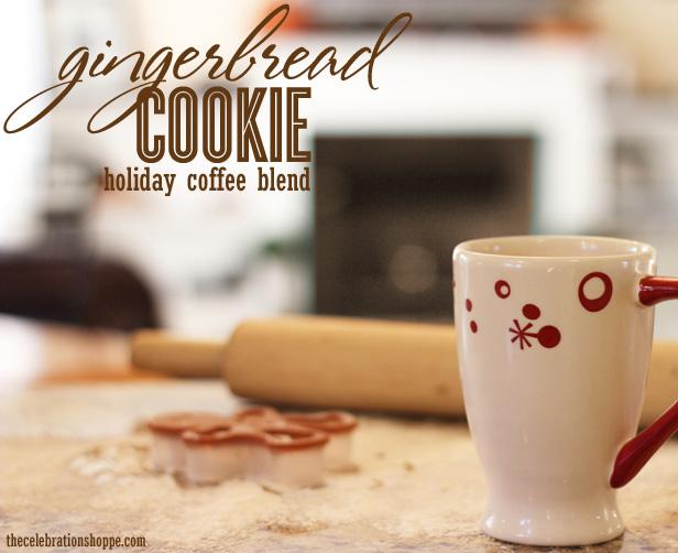 Duncan donuts gingerbread cookie coffee 2