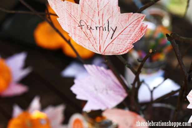 Thanksgiving craft from thecelebrationshoppe com 1