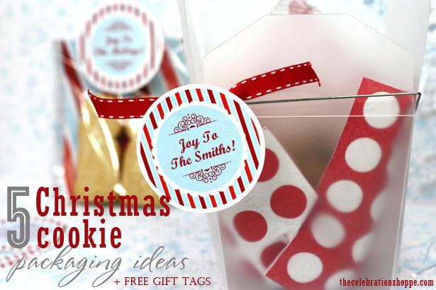 5 christmas cookie packaging ideas