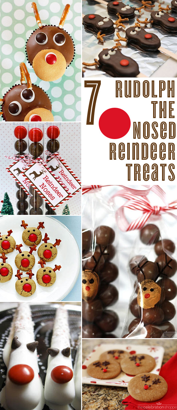7 rudolph the red nosed reindeer treats1