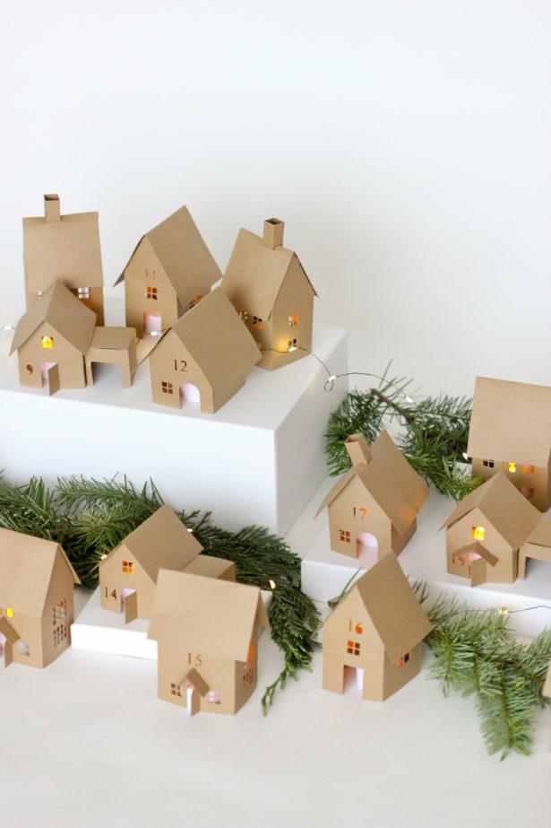 House Advent Calendar Ideas