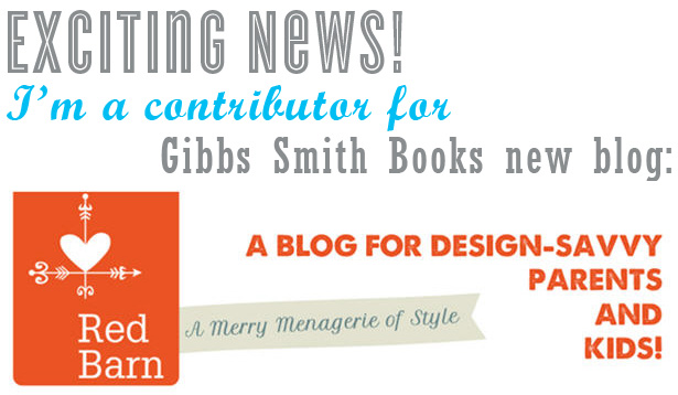 Gibbs smith blog announcement