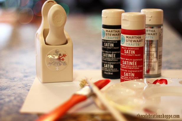 Red bird handprint art 9986wl