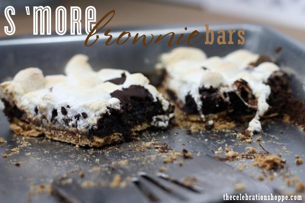 Smore brownie bars 2 0150