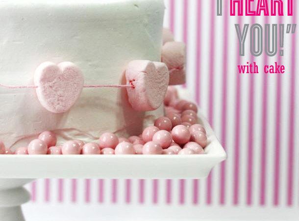 The celebration shoppe valentine heart cake wl