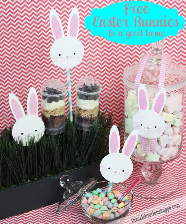 1 the celebration shoppe free easter bunny printables 7948 wt