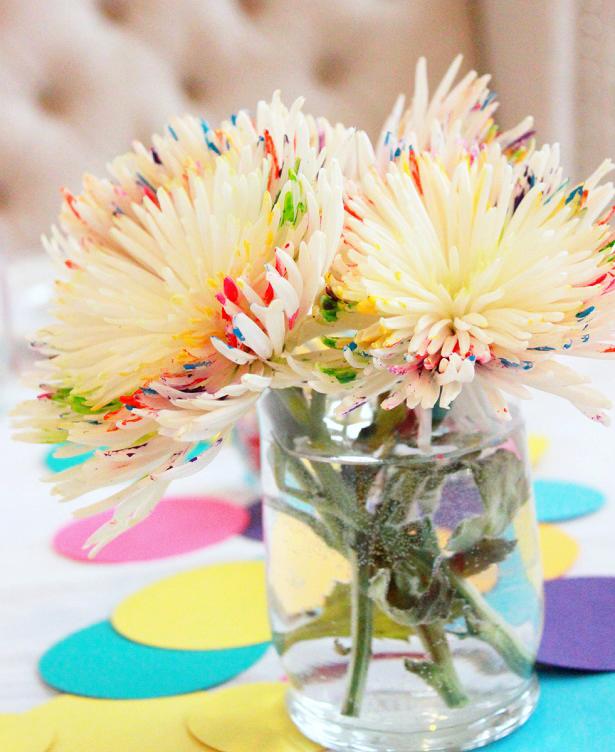 Rainbow Birthday Flowers