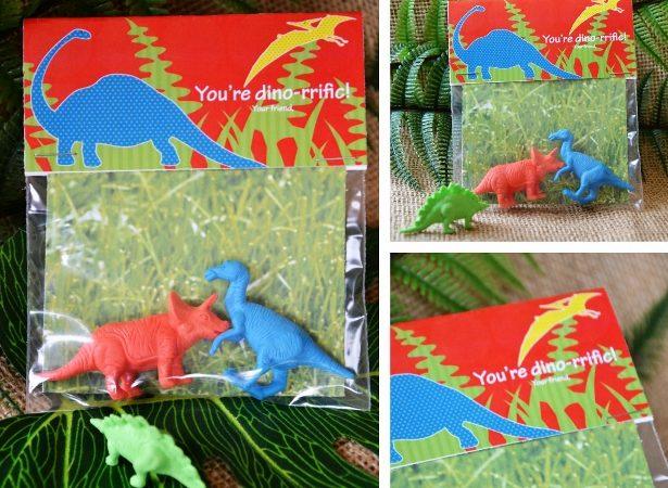 Dinosaur valentine idea