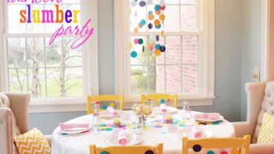 Mirabelle creations slumber party wt