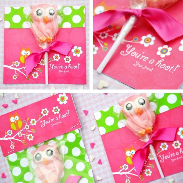 Owl kid valentine ideas