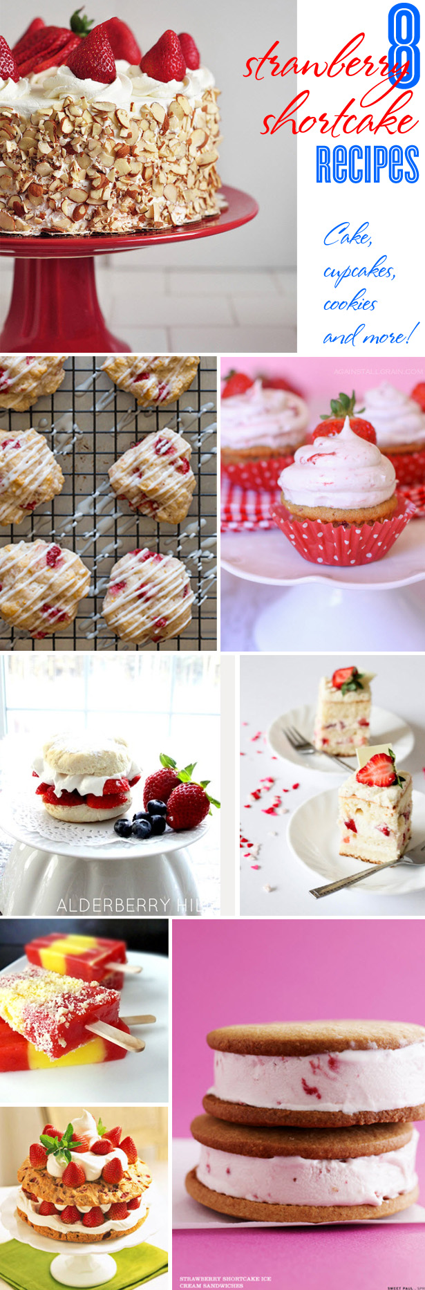 Strawberry Cakes and Cupcakes