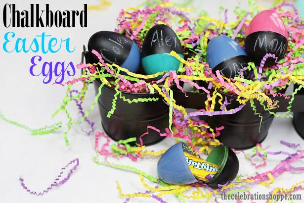The celebration shoppe chalkboard easter eggs 8544wt