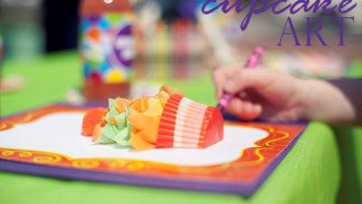 The celebration shoppe art party 3 d cupcake art activities