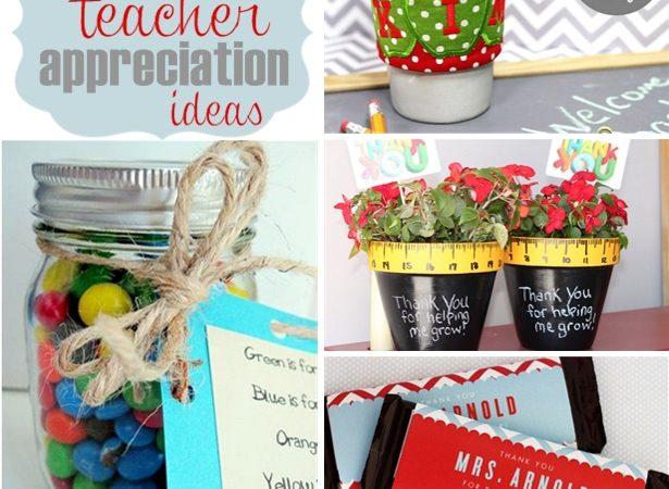 Teacher appreciation day ideas