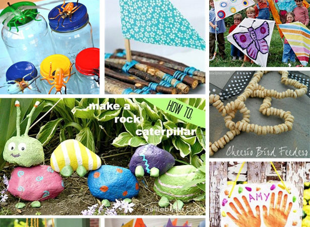 10 outdoor summer crafts