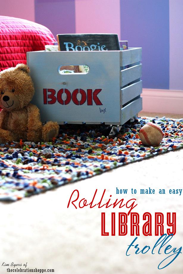 1 diy trolley book storage the celebration shoppe 1105 615wt