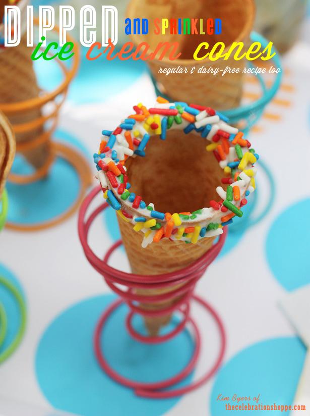 1 the celebration shoppe dipped ice cream cone 0478wt