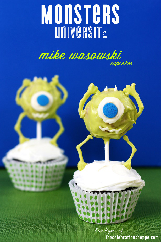 1 the celebration shoppe monsters u cupcake 0538wt