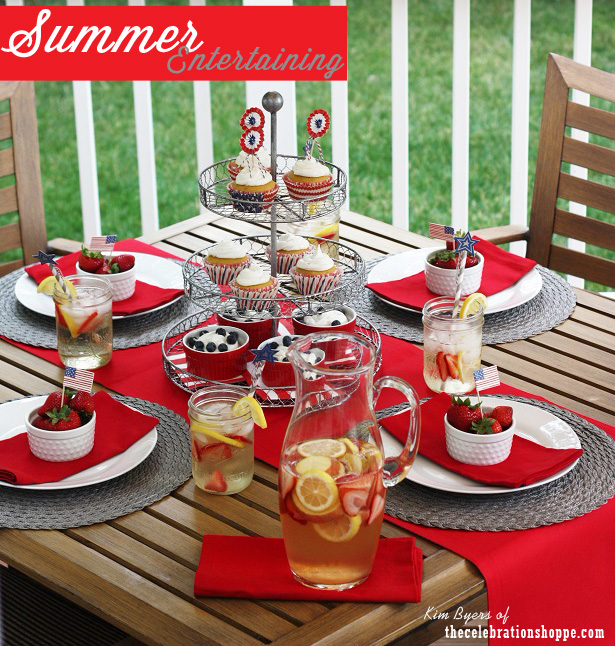 1 the celebration shoppe red white silver summer table 1622wn