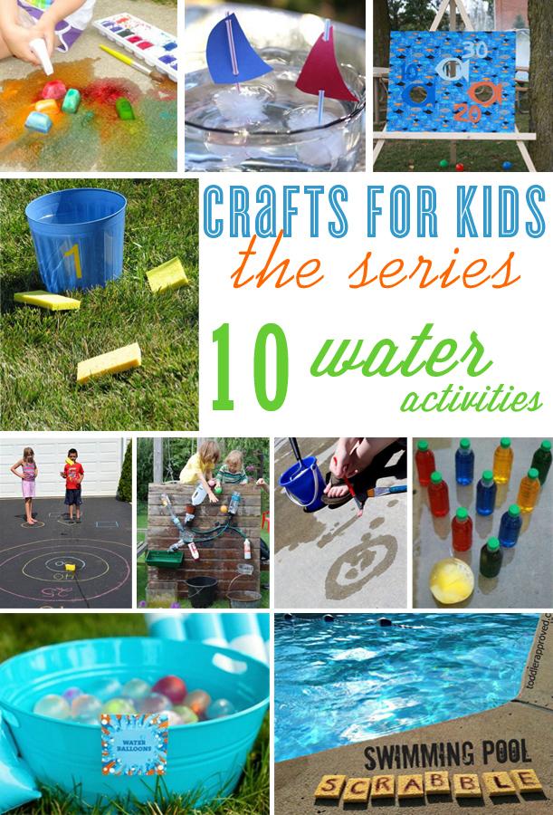 10 crafts for kids water fun