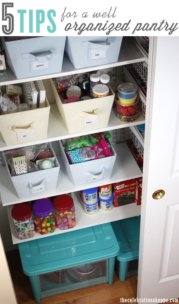 5 tips for a well organized pantry 1