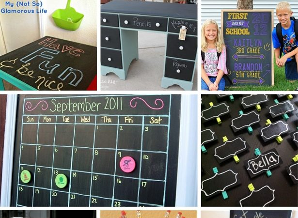 Chalkboard round up back to school