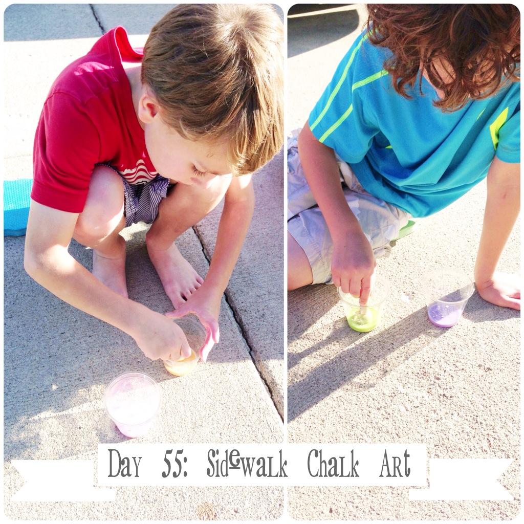 How to make sidewalk chalk paint 3601