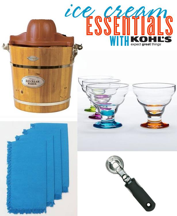 Ice Cream Essentials with Kohls