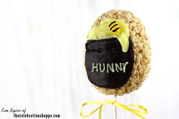 Winnie The Pooh HUNNY Pot Rice Krispies Treats | TheCelebrationShoppe.com