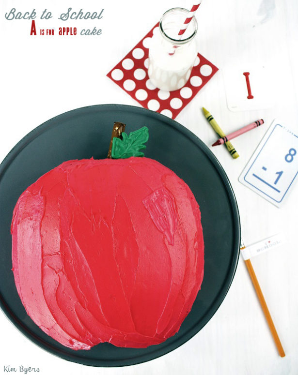 Back to School A is for Apple Cake