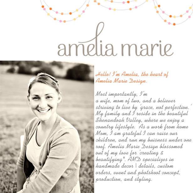 Introducing Amelia Marie Design
