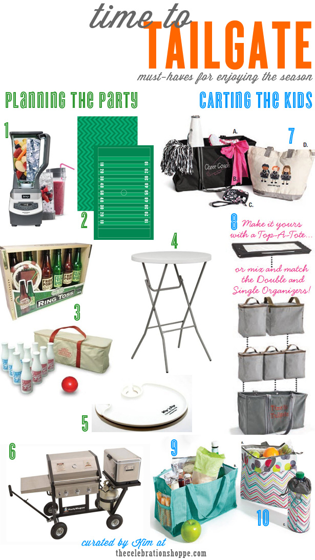 Tailgate party tips and ideas