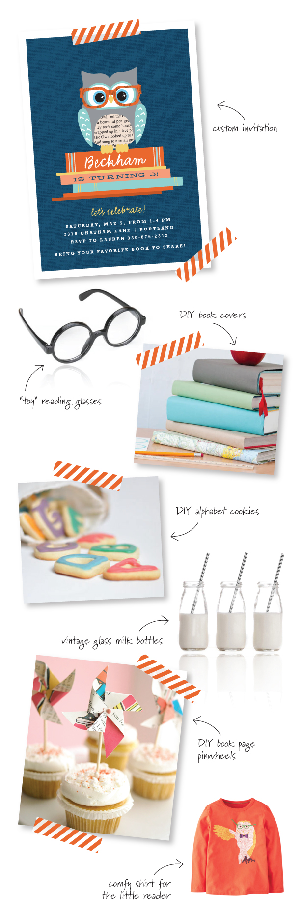 Book party ideas