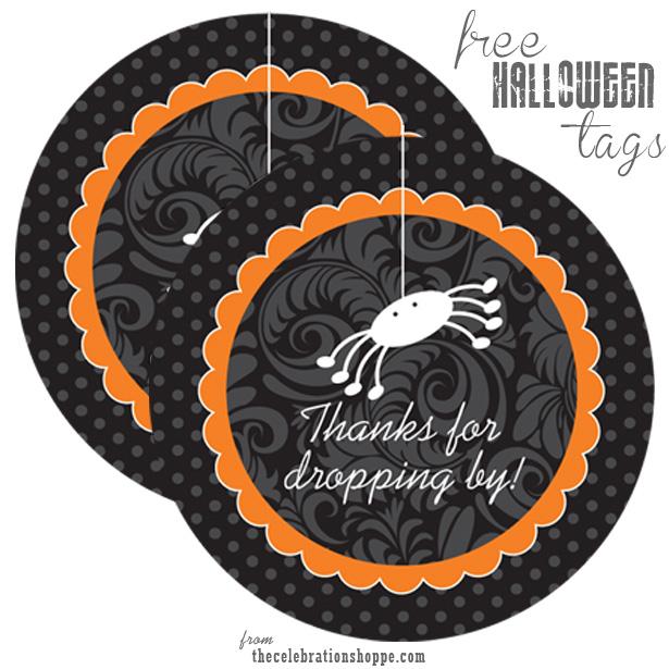 Free Halloween Favor Tags | Kim Byers
