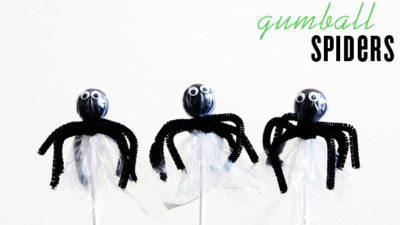 Gumball spider favors