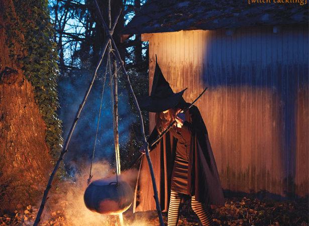 Martha stewart halloween pumpkin cauldron